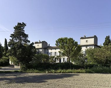 Photo for Cottage for 6 people at Domaine de la Forçate with swimming pool in the park.