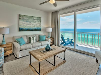Photo for Splash Corner Unit - Direct Beachfront - New Everything - Gulf Front Pools, More