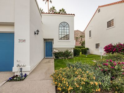 Photo for Spanish-inspired townhome w/ furnished balcony, shared pool, & pool spa