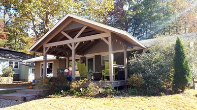 Photo for Recently renovated, new front porch and walk-able to the town of Black Mountain