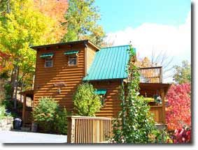 Photo for Honeymooners Delight in this 1 bedroom cabin with Hot Tub, Jacuzzi, FP, Wi-Fi and View!
