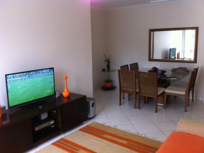 Photo for Guarujá - 3 bed. in Pitangueiras, Wi-Fi, 2 parking spaces, sleeps 10 people