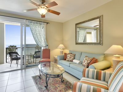 Photo for 2/2 SPACIOUS CONDO WITH ENDLESS VIEWS OF THE GULF- Snowbird Dates Available!