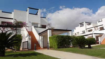 Photo for Relaxed holiday in a child and family friendly garden, Naranjos 5