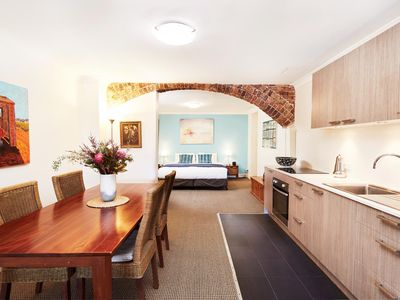 Photo for Spacious Studio With Courtyard and Extra Beds