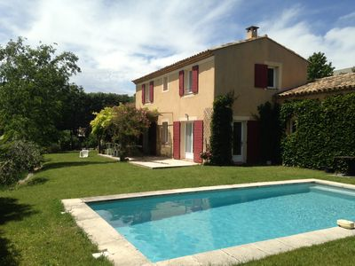 Photo for Nice house with pool very close from Aix-en-Provence