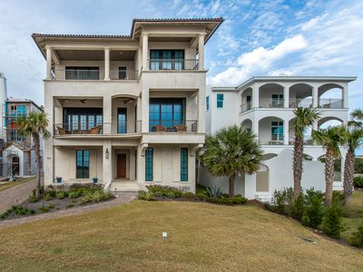 Photo for Luxury Home in Gated Community! 3 Masters! Gulf Views from All Balconies!
