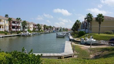 Photo for Private harbor - golf. South Padre Island.