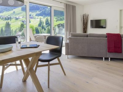 "Photo for Apartment ""Hammerspitze"", 80 m2, ground floor, terrace - Walser Lodge"