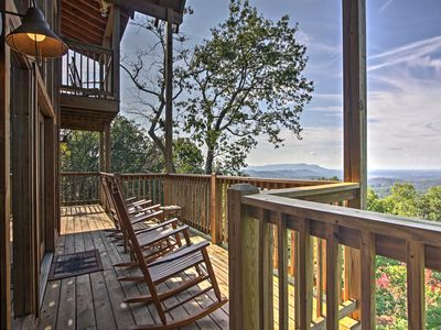 Photo for Cabin w/Movie Theater, Game Room & Smoky Mtn Views