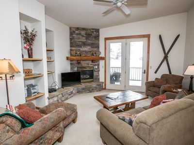 Photo for Penthouse Condo at Whitefish Summer Resort, Close to Trails and Glacier