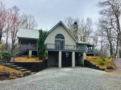 Photo for Bear's Rest, mountain top property with spectacular long range views