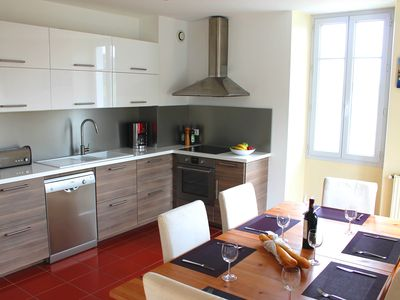 Photo for Spacious Duplex apartment for 6 within walking distance from beach
