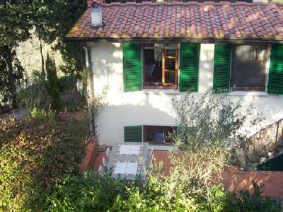 Photo for Independent house in the Tuscan country close to Pieve San Lazzaro