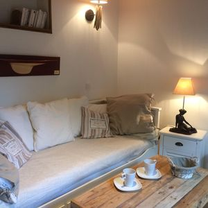 Photo for CABOURG CITY CENTER. Gîte 35m ², house on garden 40m ² full south. Comfort