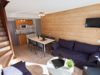Photo for Semi-detached chalet in the heart of Serre Chevalier Wifi included