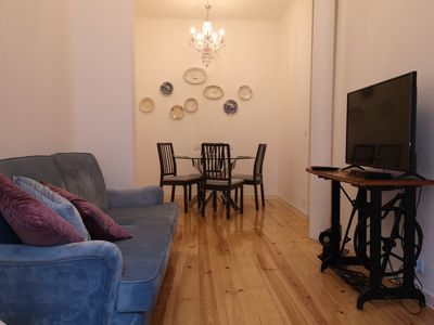 Photo for Apartment in Downtown Lisbon with 2 Rooms and fully equipped