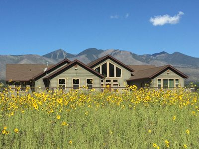 Photo for Windy View Ranch:  Amazing mountain views, backs forest,  180+ 5-star reviews!