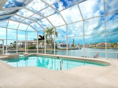 Photo for Amazing Wide Water Views Pool & Spa Home with Dock