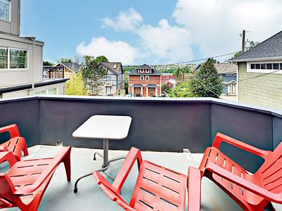 Photo for Queen Anne 2BR w/ Off-Street Parking & Mountain Views – Walk to Local Dining