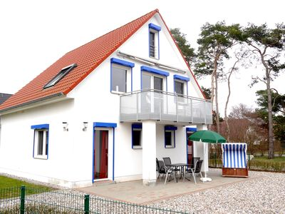 Photo for Close to the beach cottage with sauna, 4 bedrooms, large garden, Wi-Fi Phone