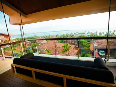 Photo for Balinese Sea View Villa With Infinity Pool