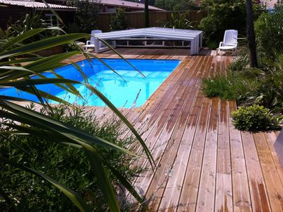 Photo for Near Soulac, heated indoor pool, jacuzzi, sauna, fitness room