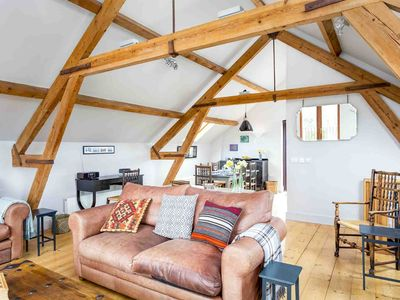 Photo for The Granary is a former farm building, with lovely rural views, in the heart of the North Cotswolds