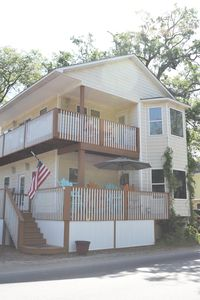 Ocean Lakes N106. Upstairs of the house is the rented portion. 2br/2ba