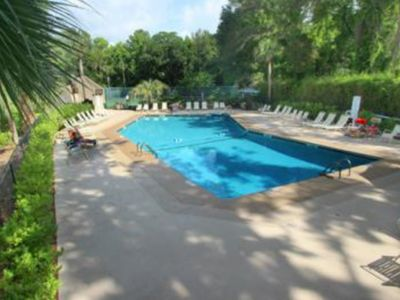 Photo for A relaxing vacation home with a shared swimming pool and two tennis courts