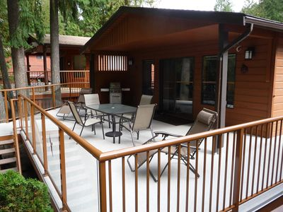 Photo for 2 Bed-1 Bath Cabin for rent in Sicamous, BC