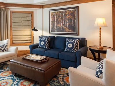 Photo for Willows 202: luxury two bedroom – premier location Vail Village