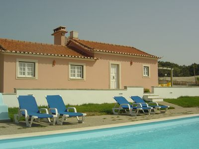 Photo for House in private farm on the beach with pool