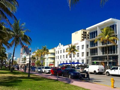 Photo for STAY RIGHT ON OCEAN DRIVE! CONFY UNIT FOR 4, JUST MINUTE WALK TO THE BEACH