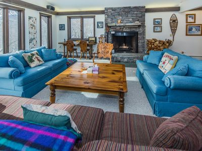 Photo for Trailside Haven is a spectacular ski in/out property.