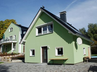 Photo for House (*** stars) - Manor house apartments with fireplace, sauna and outdoor pool *****