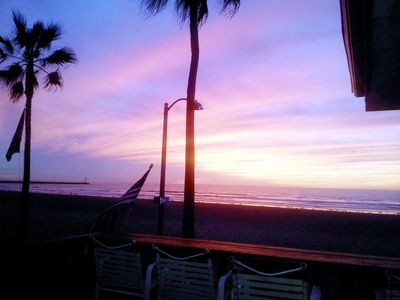 enjoy beautiful sunsets from the deck