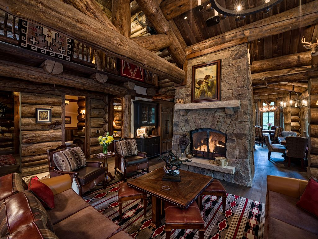 Vail S Most Luxurious Log Home And Private Vrbo