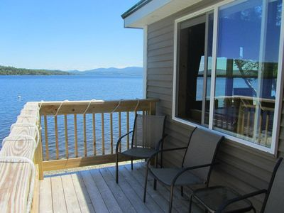 Photo for Beautiful Like New Lake Front Yr Round Cottage with Magnificent Views and 5ft fr