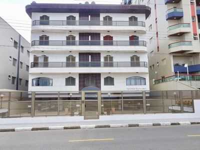 Photo for Apartment in Mongagua - Beachfront building