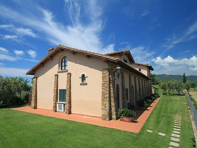 Photo for 3 bedroom Apartment, sleeps 5 in Ponti di Badia with Pool, Air Con and WiFi