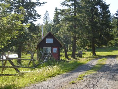Photo for Mountaintop Tiny House//Cabin Just Outside of Coeur d'Alene