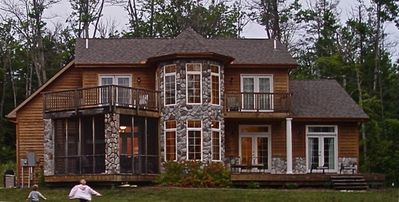 Photo for Waterfront Home on Beautiful Lake Charelvoix's South Arm
