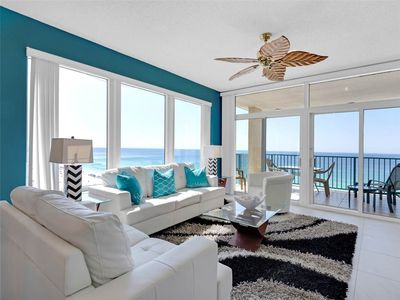 Photo for Upscale Furnishings, Beautiful Views of the Beach, Granite Counters, Flat Screen TVs
