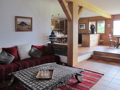 Photo for Beautiful chalet on the slopes in Saint Gervais