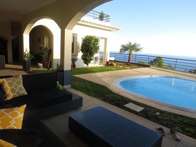 Photo for LUXURIOUS HOUSE WITH PRIVATE POOL, OCEAN AND MOUNTAINS VIEWS