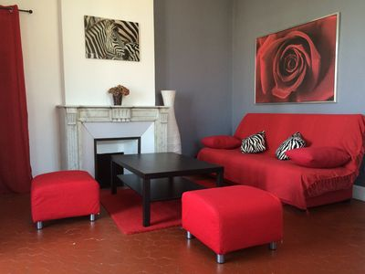 Photo for The charm of a country house in the heart of Marseille
