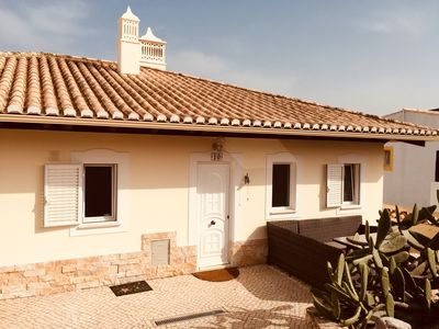 Photo for Fantastic vacation villa on the Western Algarve, with pool garden and Carport