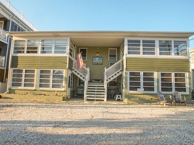 Photo for Cozy beach bungalow-style condo steps from the ocean-Rodney Ave Unit 6 is back!