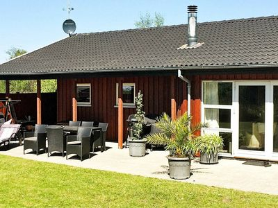 Photo for Traditional Holiday Home in Glesborg Jutland with Terrace